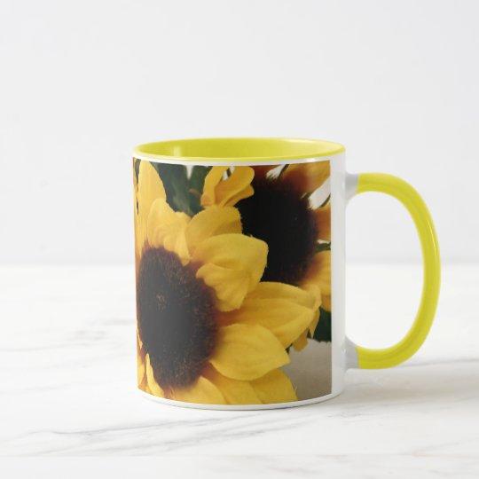 Sonnenblume-Tasse Tasse