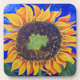 Sonnenblume-Untersetzer Getränkeuntersetzer