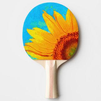 Sonnenblume-Van- Goghquadrat Tischtennis Schläger