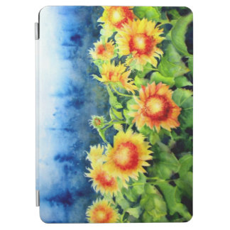 Sonnenblumefelder iPad Air Hülle