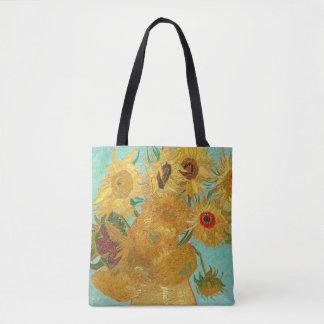 Sonnenblumen durch Van Gogh Tasche