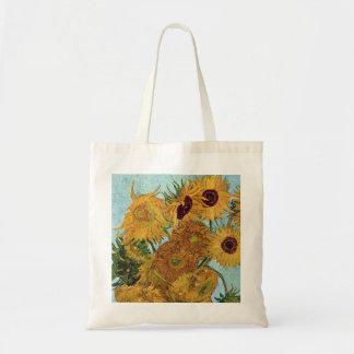 Sonnenblumen durch Van Gogh Tragetasche
