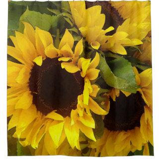 Sonnenblumen Duschvorhang