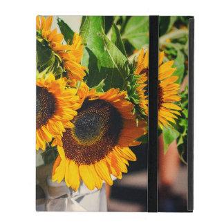 Sonnenblumen iPad Schutzhülle