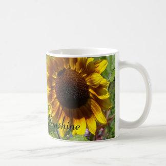 Sonnenblumen - Sie sind mein Sonnenschein Kaffeetasse