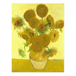 Sonnenblumen Van Gogh | | 1888 Postkarte