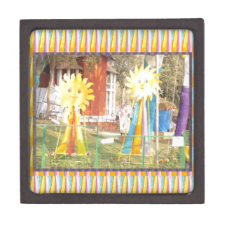 Sonnenblumesonnenscheindekorations-Festivals Kiste