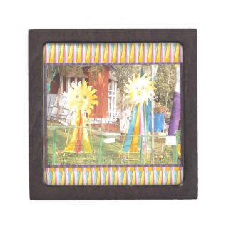 Sonnenblumesonnenscheindekorations-Festivals Schachtel