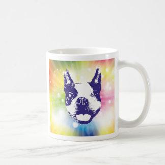 Sonnendurchbruch Bostons Terrier Kaffeetasse