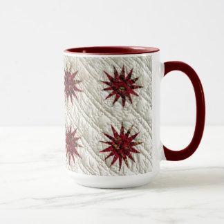 Sonnendurchbruch-Steppdecke Tasse