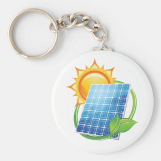 Sonnenenergie Keychain Schlüsselanhänger