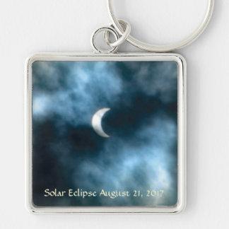 Sonnenfinsternis am 21. August 2017 Schlüsselanhänger