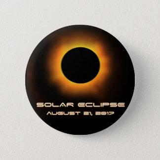 Sonnenfinsternis Runder Button 5,1 Cm