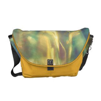 Sonnenlicht im Smaragdmeer Kurier Taschen