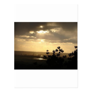 Sonnenlicht Postkarte