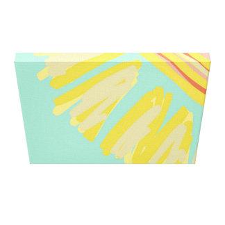 Sonnenschein-abstrakte helle Entwurfs-Grafik Leinwanddruck