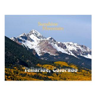Sonnenschein-Berg - Vintage Art Postkarte