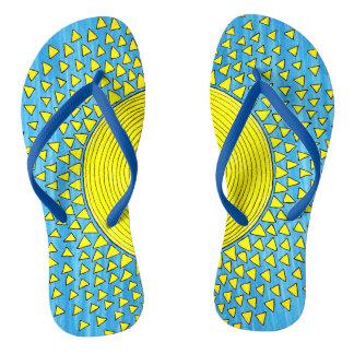 Sonnenschein für Ihre Füße Flip Flops