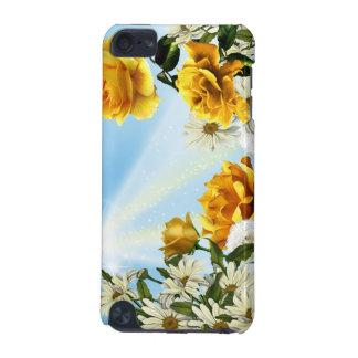 Sonnenschein-Gänseblümchen u. Rosen iPod Touch 5G Hülle