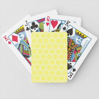 Sonnenschein-Hexagon 1 Pokerkarten