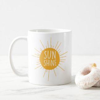 Sonnenschein-Kaffee-Tasse Tasse