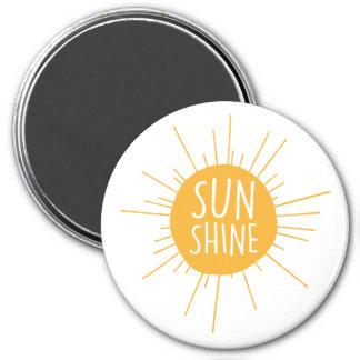 Sonnenschein-Magnet Runder Magnet 7,6 Cm