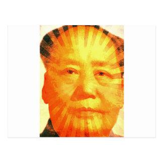 Sonnenschein Mao Postkarte