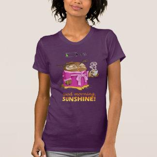 Sonnenscheineule des gutenmorgens T-Shirt