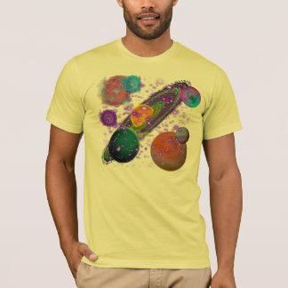 Sonnensystem-Entwurf mit Sternen T-Shirt