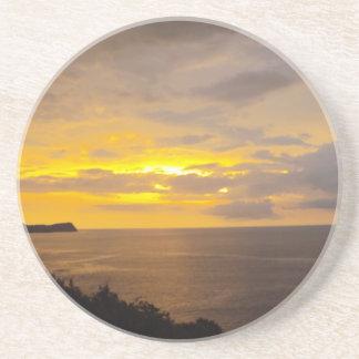 Sonnenuntergang 2 Costa Rica Sandstein Untersetzer
