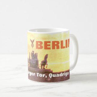 Sonnenuntergang am Brandenburger Felsen, Berlin Kaffeetasse