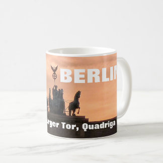 Sonnenuntergang am Brandenburger Tor, Berlin Kaffeetasse