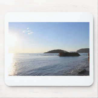 Sonnenuntergang auf dem Ozean Mousepad
