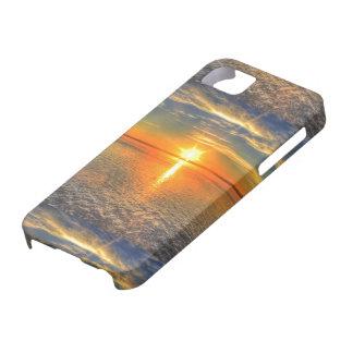 Sonnenuntergang auf dem Strand iPhone 5 Etui