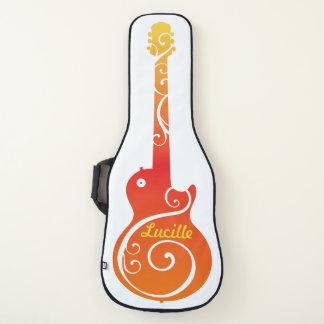 Sonnenuntergang-FarbE-Gitarren-Entwurf Gitarrentasche