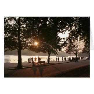 Sonnenuntergang in Hyde Park Karte