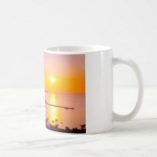 Sonnenuntergang in Mykonos, Griechenland Kaffeetasse