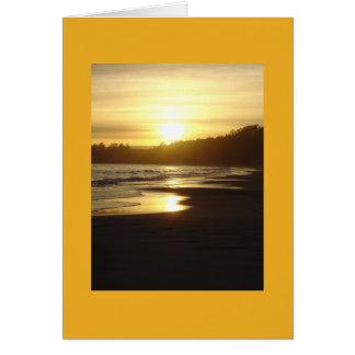 Sonnenuntergang-Karte Santa Cruz, Karte