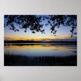 Sonnenuntergang, Konserve Georges Lestrange, Fort Poster