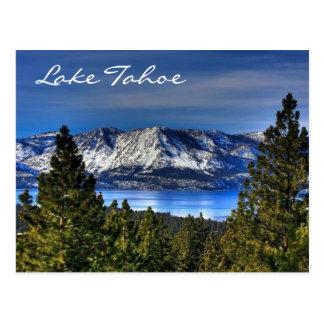 Sonnenuntergang Lake Tahoe Postkarte