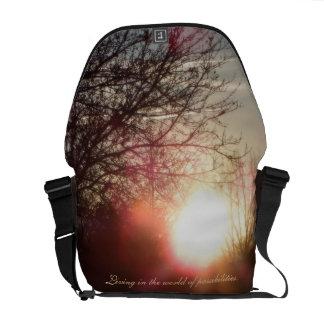 Sonnenuntergang-Rickshaw-Tasche Kuriertasche