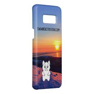 Sonnenuntergang-Schnee-Tier wiederholt Fall Case-Mate Samsung Galaxy S8 Hülle