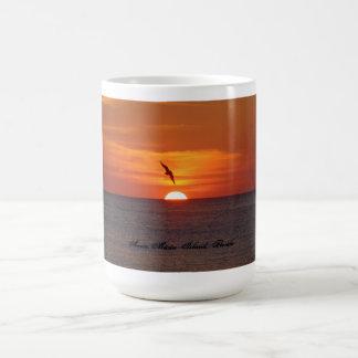 Sonnenuntergang-Tasse Kaffeetasse