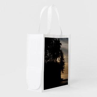 Sonnenuntergang-Täuschung Wiederverwendbare Einkaufstasche