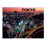 Sonnenuntergang Tokyos Japan (St.K) Postkarte