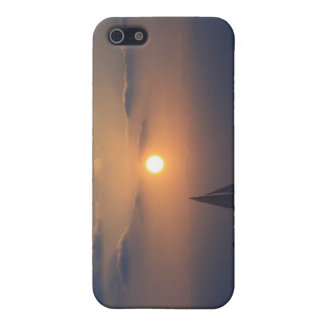 Sonnenuntergang über dem Ozean iPhone 5 Etui