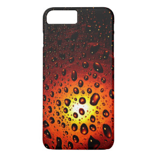 Sonnenuntergang waterdrops iphone 7 PlusHüllen iPhone 8 Plus/7 Plus Hülle