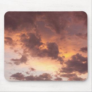 Sonnenuntergang-Wolken Mousepads