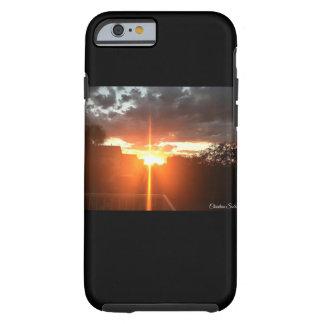 Sonnenuntergangquertelefonkasten Tough iPhone 6 Hülle