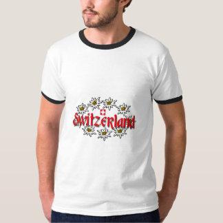 Sonnerie d'edelweiss de la Suisse T-shirt